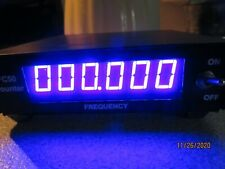 FC50 6 Digit Inline Frequency Counter