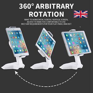 Multi Angle Tablet Holder Stand 7'-15'' Desktop Table Desk Mount For iPad/Tablet
