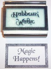 Magic Happens rubber stamp by Amazing Arts Wiccan