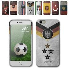 Urcover® Football Phone Case Fan Protective Cover Silicone flag glass film