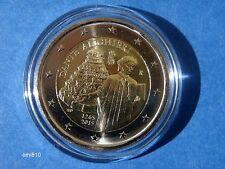 "♣ Pièce 2 euros commémorative ITALIE 2015 ""  DANTE ALIGHIERI  ""  sous capsule ♣"