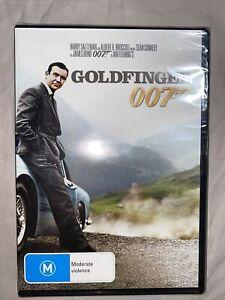 Goldfinger DVD JAMES BOND 007 Sean Connery BRAND NEW R4