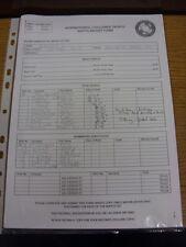28/05/2017 Teamsheet: At Solihull Moors - Panjab Football Association v England