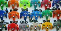 PICK! Authentic OEM Nintendo 64 N64 Controllers Pokemon Gold Blue Red Neon Green