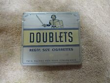 New listing vintage Axton-Fisher Tobacco Co Doublets Cigarette Tin Louisville Ky. Tax Stamp