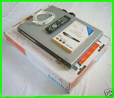 PHILIPS DVDR 3570h DivX/XviD/mp4 DVD/HDD RECORDER * 160 GB = 200 ore * Ingresso USB