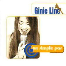 ★☆★ CD Single Ginie LINE Un simple pas 3-track CARD SLEEVE RARE 1997 FRANCE ★☆★