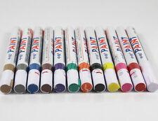 12 Colors Sets Fine Paint Oil Based Art Marker Pen Metal Glass Waterproof Boxed