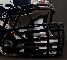 *CUSTOM* DENVER BRONCOS Riddell SPEED Football Helmet Facemask - NAVY BLUE