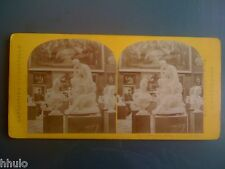 STC322 Exposition Universelle 1867 Beaux Arts Italie photo stereoview albumen