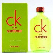 (prezzo base 69,90 €/100ml) CALVIN KLEIN CK ONE SUMMER 2012 - 100ml EDT SPRAY