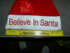 Novelty Christmas Hat I Believe in Santa  (A-17)