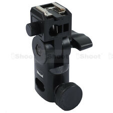 Hot Shoe Mount Flash Bracket/Umbrella Holder for Canon Nikon Pentax Speedlite
