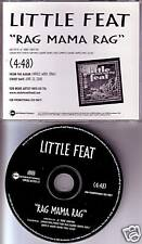 LITTLE FEAT Rag Mama ULTRA RARE PROMO DJ CD Single 2000