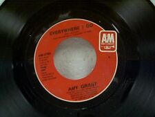"""AMY GRANT """"EVERYWHERE I GO / WHERE DO YOU HIDE YOUR HEART"""" 45 MINT"""