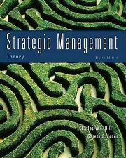 Strategic Management Theory: An Integrated Approach, Hill, Used; Good Book