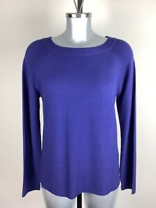 Klein Pullover Größe 14 Bnwt Blau Raglan Ärmeln UVP £ 69 jetzt £ 30