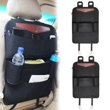 2 Kindersitz Rückenlehnentasche Autositztasche Sitzschoner Organizer Schutzmatte