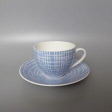 Arzberg 2000 Bastdekor blau Kaffeetasse 2tlg  2. Wahl  (D)