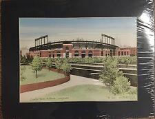 Paul C DeRemigis JR Camden Yards Orioles Hand Watercolor Baltimore Limited Print