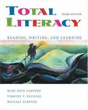 Total Literacy: Reading, Writing, and Learning, 3rd Edition, still in shrinkwrap