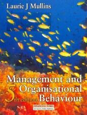 Very Good, Management and Organisational Behaviour, Mullins, Laurie J., Paperbac
