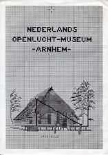 Nederlands Openlucht-Museum -Arnhem- Cross Stitch Chart for Buildings