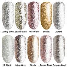 6ml Silver Golden Bling Collection Glitter UV LED Soak Off Gel Nail Polish