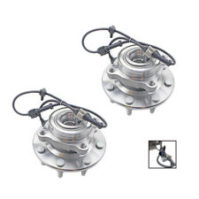Pair New Front Wheel Hub Bearing Assembly Left Right for Chevy GMC Sierra 2500