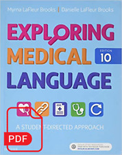 New ListingExploring Medical Language A Student-Directed Approach 10th Edition ✔🔥