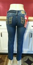 Sand Limited - Colombian Butt Lifting Skinny Jeans, US 11, Mid-Rise, Medium Wash