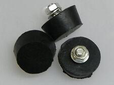 3 Gummipuffer f.Schleuder,4 cm D.2 cm h.,Imkerei,Imker,Gummipuffer,Gummifüße