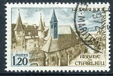 STAMP / TIMBRE FRANCE OBLITERE N° 1712  ABBAYE DE CHARLIEU
