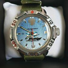 Wrist Watch Komandirskie VDV USSR Vostok + New NATO Strap