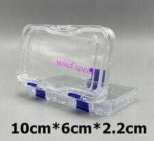 Denture False Inlay Teeth Membrane Case Hinged Display Jewelry Box Fragile 50pcs