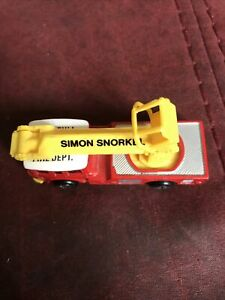 Corgi J8/1 Simon Snorkel Fire Engine