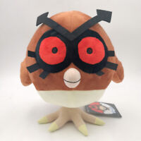 Hoothoot Owl Pokemon Plush Toy Hoho Pokedoll into Noctowl bird Stuffed Animal 9""