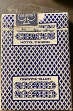 New Vintage Circus Circus Blue Casino Playing Cards Deck! Ohio-Uspc Blue Seal!