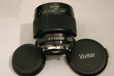Vivitar 55mm F2.8 Macro Lens. Pentax K fit