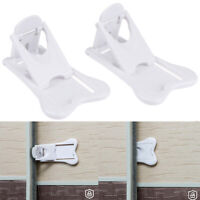 Sliding Door Lock for Child Safety Baby Proof Doors Closets Childproof Ho MF Hw