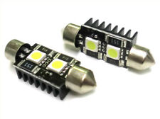 A2ZWORLD LAMPADA LED SILURO CANBUS NO ERRORE T11 C5W 39MM 2 SMD 5050 12V LUCI TA