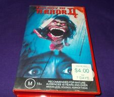 TRILOGY OF TERROR 2  VHS PAL CIC ORIGINAL CASE