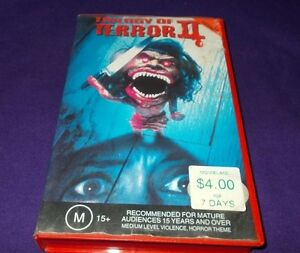 TRILOGY OF TERROR 2  VHS PAL CIC ORIGINAL CASE