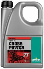 Motorex Cross Power 2T Fully Synthetic 2Stroke Oil Premix 4 litre SX50 SX65 SX85