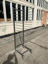 Ragalwagen Rack Trolleys for 17 Baking Sheet 600x400mm Dimensions 50x55x180 CM