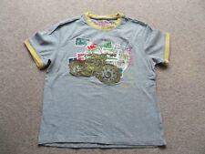 Boys Marks and Spencer Indigo Grey T-Shirt Age 7-8 Height 128cm
