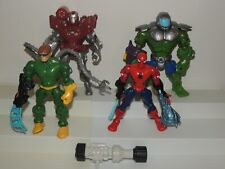Marvel Superhero Hero Mashers Lot - Hulk Iron Man Spider-Man Dr. Octopus!