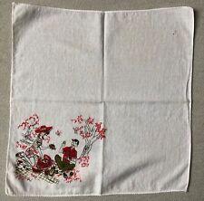 Vintage Couple on a Picnic Handkerchief