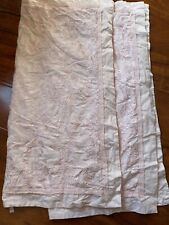 Rachel Ashwell Simply Shabby Chic Pink Embroidered Euro Pillow Shams