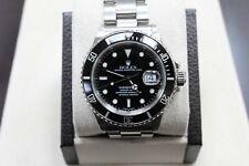 Vintage Rolex Submariner 16800 Stainless Steel Original Black Dial